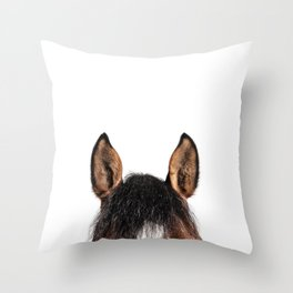 Wanna ride now? Throw Pillow