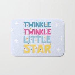 Twinkle Twinkle Little Star Bath Mat