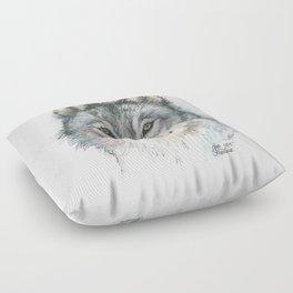Wolf Floor Pillow