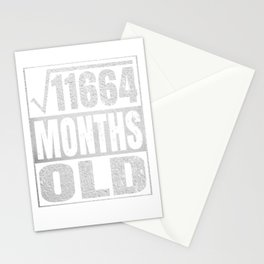 9 Years Old - 9th Birthday Vintage Retro Gift Stationery Cards
