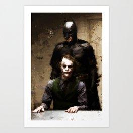 The Interrogation Art Print
