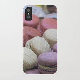 macaroons iPhone Case