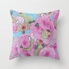 Reef #3.5.1 Throw Pillow