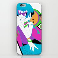vinyl iPhone & iPod Skins featuring Vinyl by Pachiiri