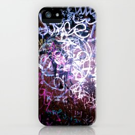 Bathroom Graffiti II iPhone Case
