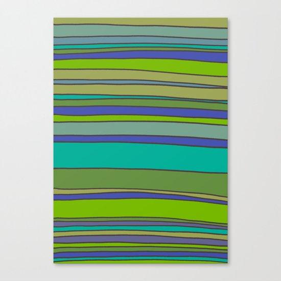 Stripes No. 2 Canvas Print