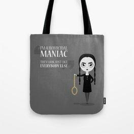 Homicidal Maniac Tote Bag