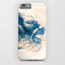 Werewolf Blues iPhone Case