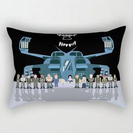 USS Sulaco Crew  Rectangular Pillow