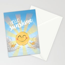 Hello Sunshine Stationery Cards