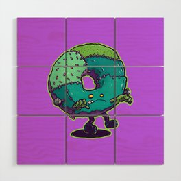 Composite Donut Wood Wall Art