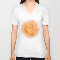 vertigo V-neck T-shirts featuring Vertigo by littlehomesteadco