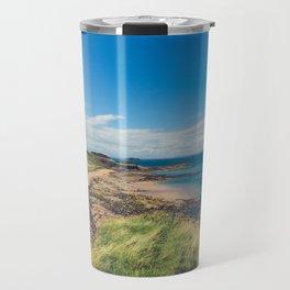 North Berwick Beach Travel Mug