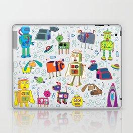 Robots in Space Laptop & iPad Skin