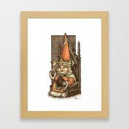 Gnome Queen Framed Art Print