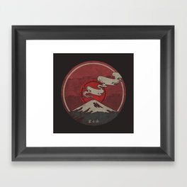 Fujisan Framed Art Print