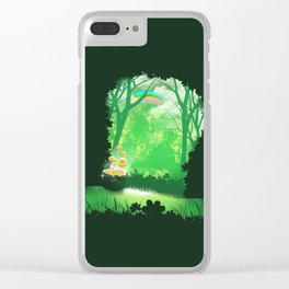 Lucky Hat Clear iPhone Case