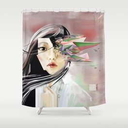 iDORU II Shower Curtain