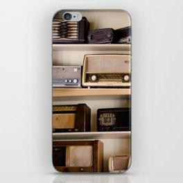 Vintage radio iPhone Skin