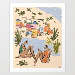 Italian Riviera Art Print