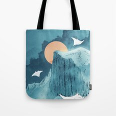 When Earth Rattled  Tote Bag