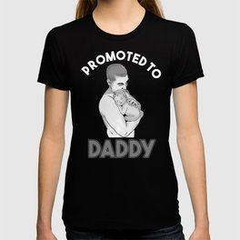 New Dad Promoted to Daddy Father's Day T-shirt