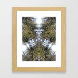 tri-nature Framed Art Print