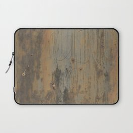 Disgusting Grungy Rusty Wounded Painted Metal Laptop Sleeve