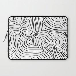 Funky Lines Laptop Sleeve