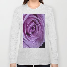 Purple Rose-3 Long Sleeve T-shirt