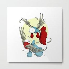 Flying Fish Metal Print