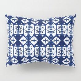 Indigo Shibori Windows Pillow Sham