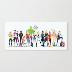 super rockers Canvas Print