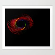 Infinity Color Art Print
