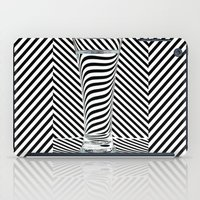 striped iPad Cases featuring Striped Water by Steve Purnell