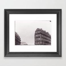 batiment Framed Art Print