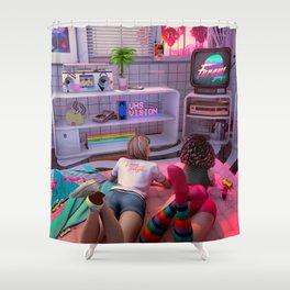 Rewind Shower Curtain