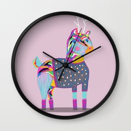 Deer - whistleburg Wall Clock