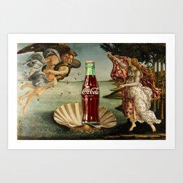 The Birth of Cola Art Print
