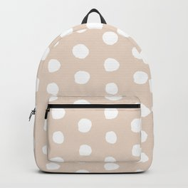 Pastel Polka Dot Backpack