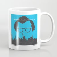 hemingway Mugs featuring No146 My Manhattan minimal movie poster by Chungkong