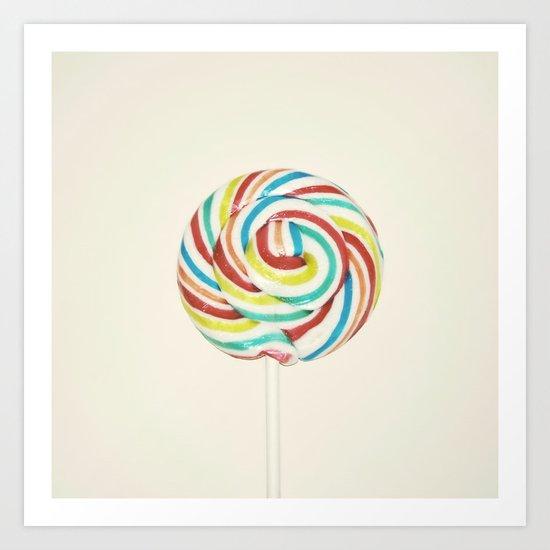 Sweet Rainbow Art Print