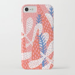 Pink winter iPhone Case