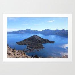 Autum at Crater Lake Art Print