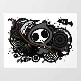 Grim_Reaper Art Print