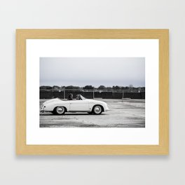 Porsche Speedster 356 Framed Art Print