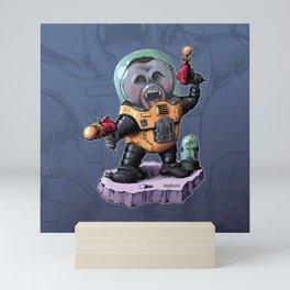 Space Orangutan Mini Art Print