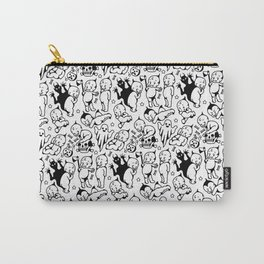 Classic Kewpie Pattern Carry-All Pouch