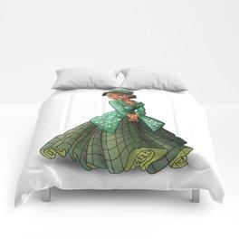 Princess Rosa Parks (Trumble Cartoon) Comforters