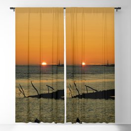 Drip and Sizzle Blackout Curtain